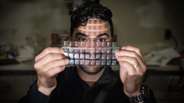 A Breakthrough in Flexible Electronics Could Turn Your T-Shirts Into Amazing Speakers
