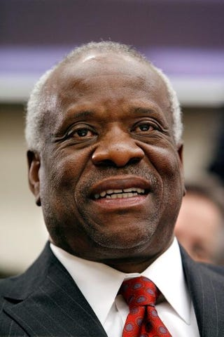 U.S. Supreme Court Justice Clarence Thomas tin 2008Chip Somodevilla/Getty Images