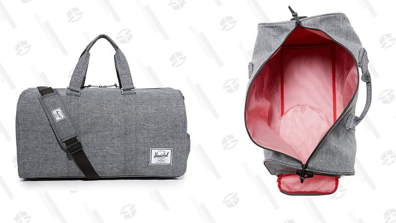 Ditch The Roller Bag For The Weekend And Grab This Herschel Duffel For $53