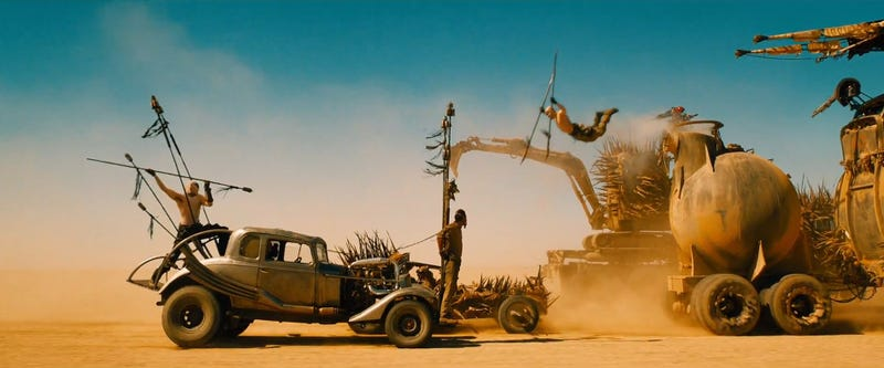 """Illustration for article titled The Making Of Mad Max: Fury Road: """"We Shot One Scene For 138 Days"""""""