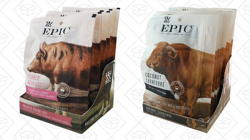 $12 off Epic Hunt & Harvest Jerky - Uncured Bacon Lust | Coconut Carnivore