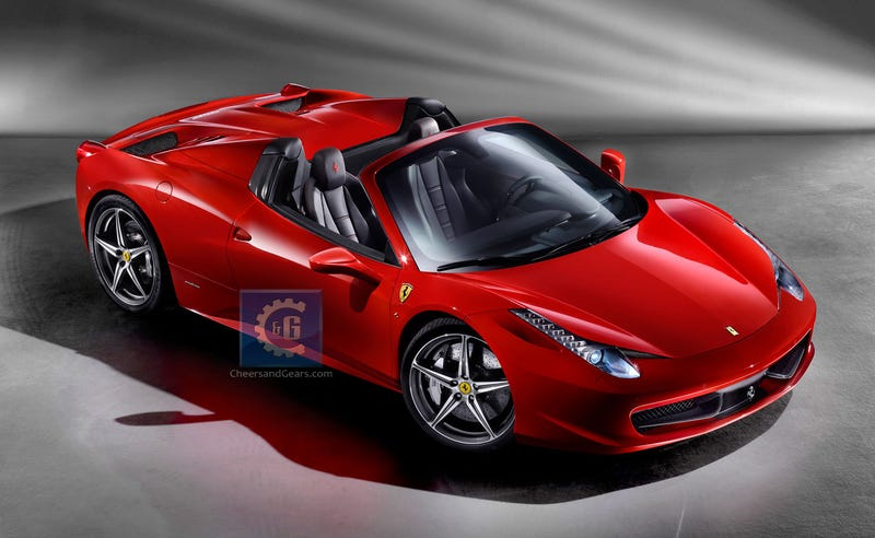 Wonderful Like Clockwork, The Boys In Maranello Are Releasing The Ferrari 458 Spider  In Time For A Frankfurt Auto Show Debut Later This Year.