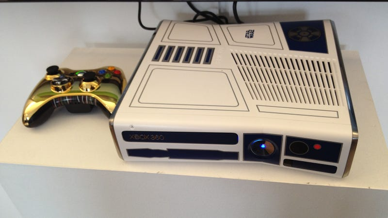 Illustration for article titled Star Wars Xbox 360 Spotted on TV Set, Rumored April Release