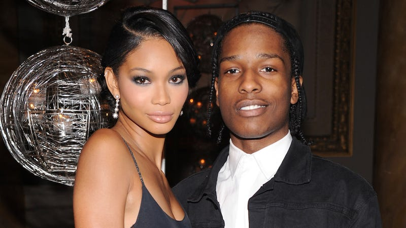 Illustration for article titled Chanel Iman and A$AP Rocky Call It Quits