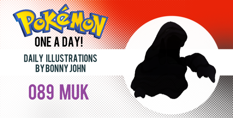 Illustration for article titled Murky Muk!  Pokemon One a Day!