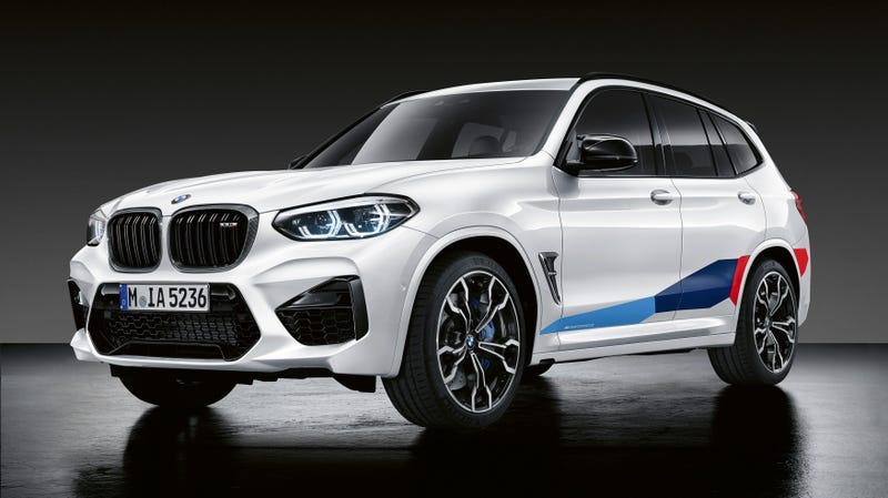BMW's Performance Parts for the X3 M and X4 M Are a Bit Much