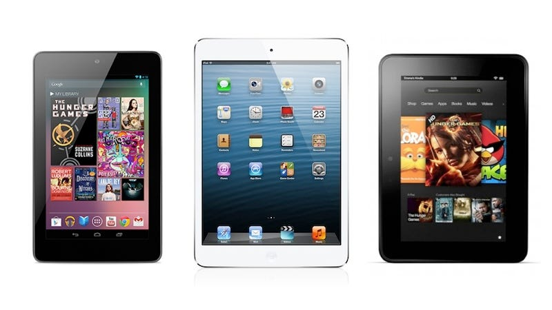 Illustration for article titled iPad Mini Display Shoot Out: How Does It Stack Up?