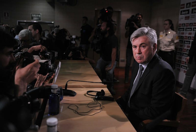 Illustration for article titled Carlo Ancelotti's Eyebrow Is The Greatest Thing Ever: A Gallery