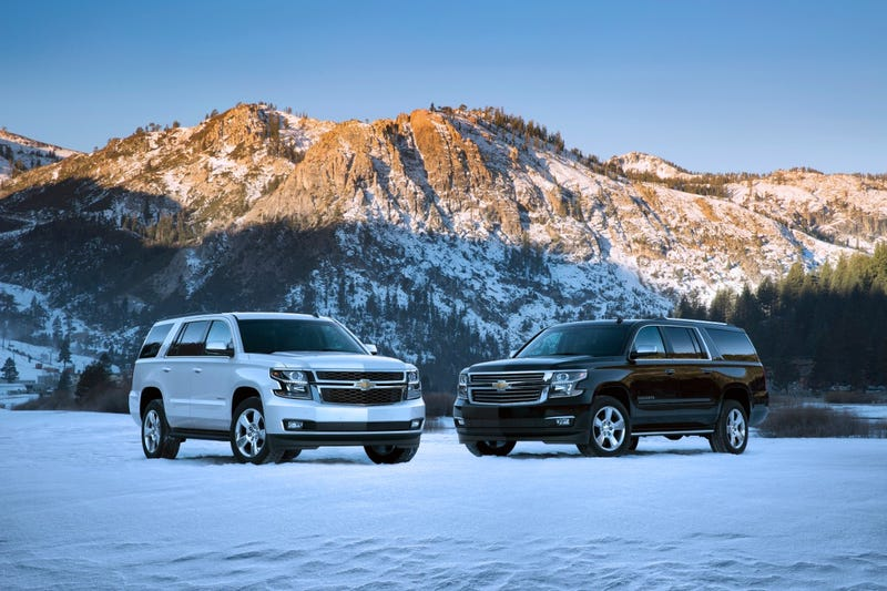 Illustration for article titled For Real: 75.5% Market Share For GM's Big SUVs