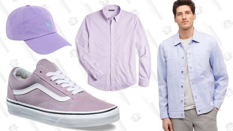 Illustration for article titled Hey, Guys...Wear Lavender This Spring