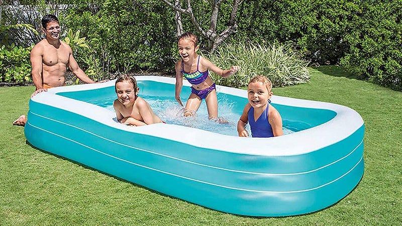 Intex Swim Center Family Inflatable Pool   $18   Amazon