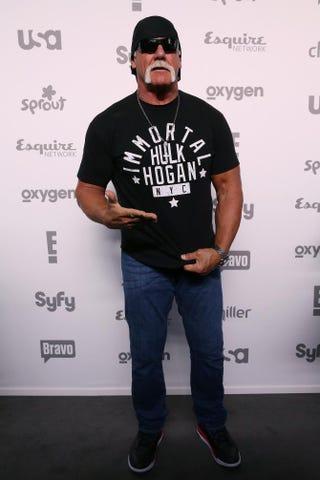 Hulk HoganRobin Marchant/Getty Images