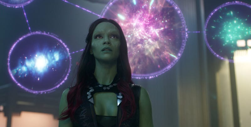 Illustration for article titled Ni siquiera la actriz que interpreta a Gamora sabe qué pasará con el personaje tras Avengers: Endgame