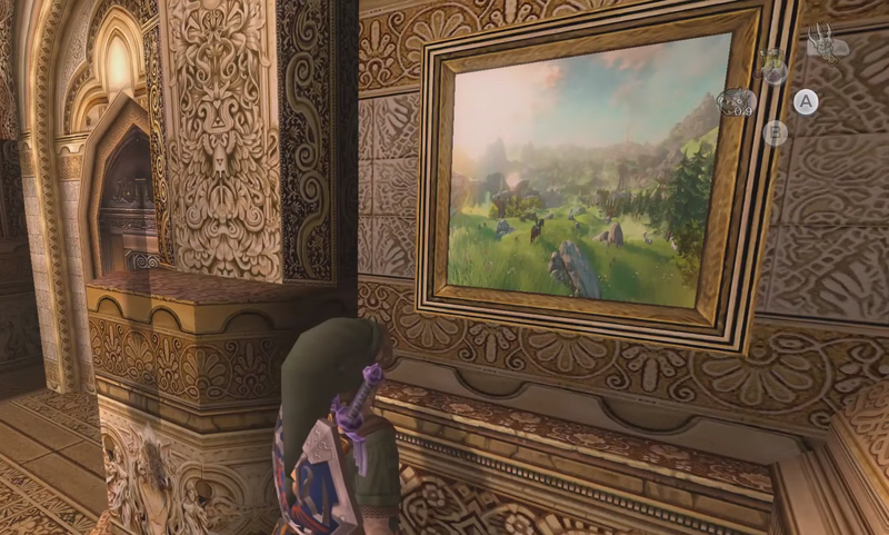 Illustration for article titled Twilight Princess Easter Egg Is A Small Shoutout To The Next Zelda