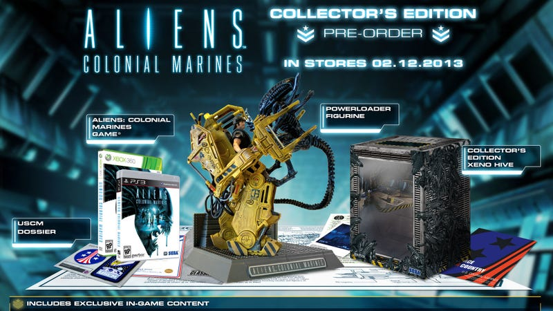 Illustration for article titled The Must-Have Collector's Edition of 2013 Award Goes to Aliens: Colonial Marines