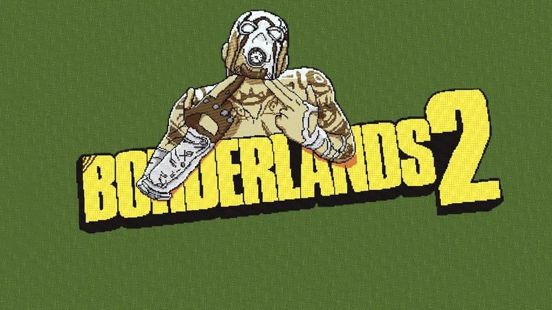Illustration for article titled Hey, You Got Your Borderlands 2 in my Minecraft.