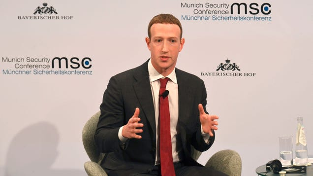 Zuckerberg: It Is Now More Convenient for Me to Be the Arbiter of Truth