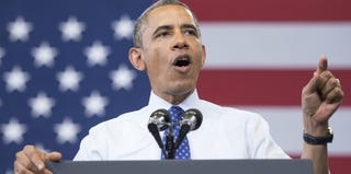Barack Obama (Jim Watson/AFP/Getty Images)