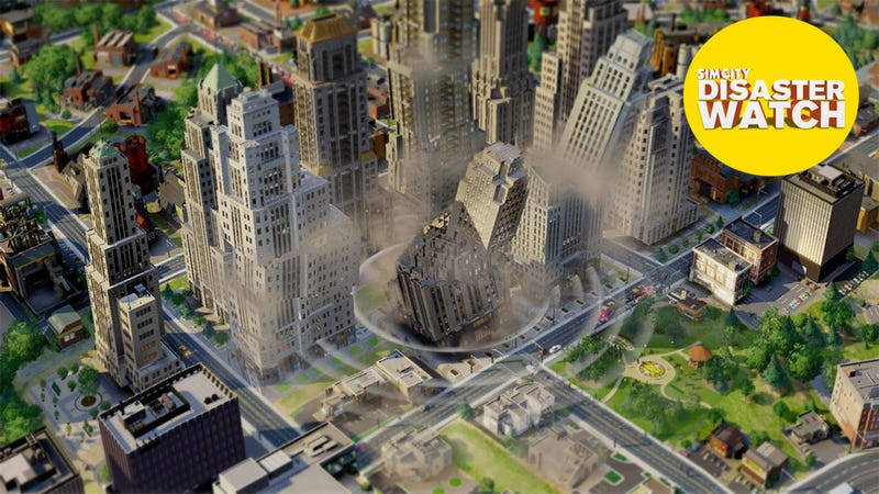"""Illustration for article titled EA Wins """"Award"""" For Charging People To Complain About SimCity"""