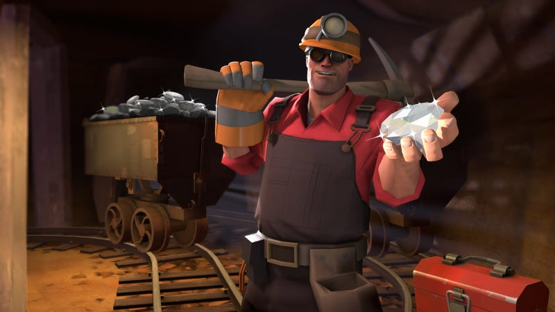 Illustration for article titled Valve Trolls Valentine's Day With $100 Team Fortress 2 DLC