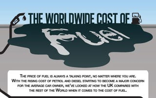 Illustration for article titled The WorldWide Cost of Fuel