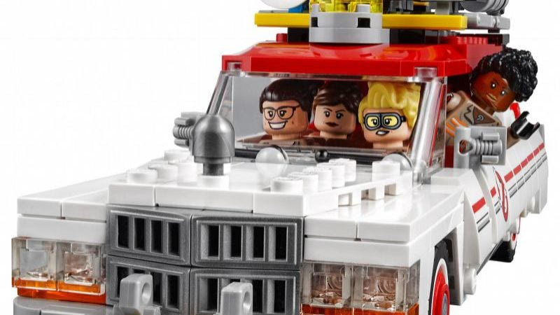 Illustration for article titled Here's the new Lego Ghostbusters set to threaten your Lego masculinity