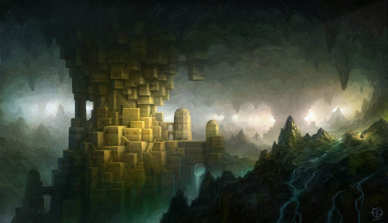 Illustration for article titled The Quest to Build a Hidden City Fit for a Dwarven King
