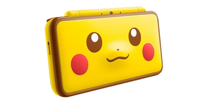 Pokemon Poke Ball Edition New 2DS XL Console Announced