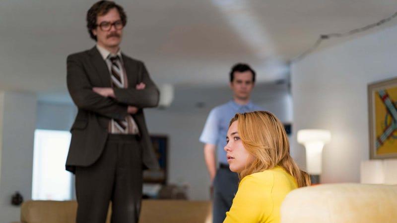 Kurtz (Michael Shannon) and Charlie (Florence Pugh)