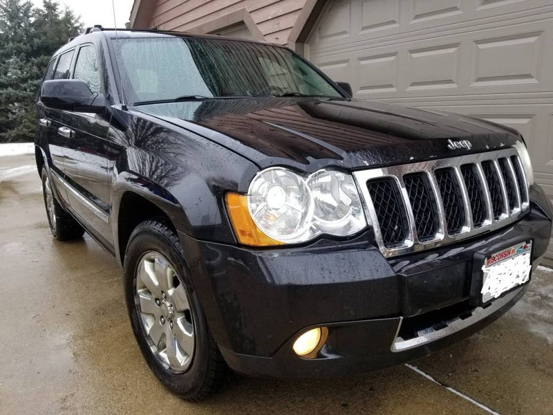 at $12,000, might this 2008 jeep grand cherokee overland crd be a