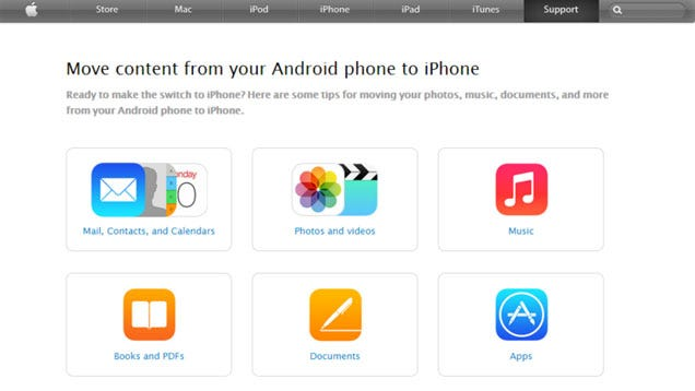 switching from iphone to android learn how to switch from android to iphone with apple s guide 18049