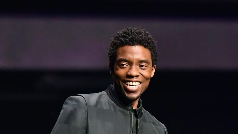 Chadwick Boseman speaks onstage at CinemaCon 2019 The State of the Industry and STXfilms Presentation on April 2, 2019 in Las Vegas, Nevada.