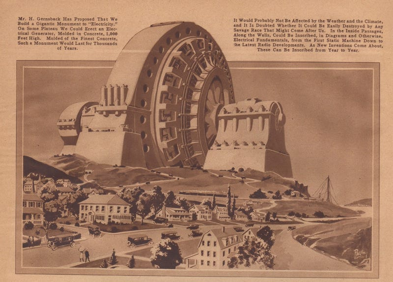 Illustration for article titled The Monument to Electricity That Never Was