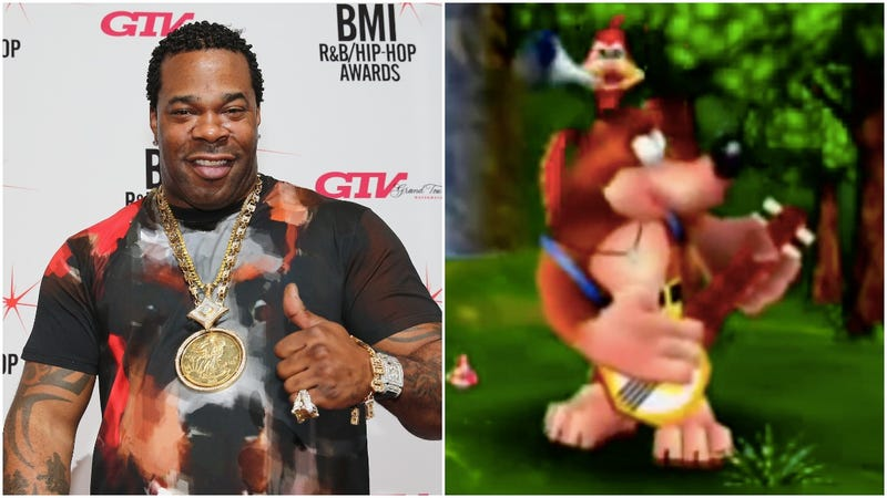 Illustration for article titled The internet was created so Busta Rhymes could meet Banjo-Kazooie