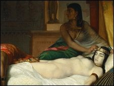 Michael Jackson's Cleopatra Painting