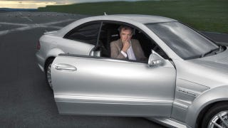 Illustration for article titled Jeremy Clarkson's Cherished Mercedes AMG Black Won't Start And He's Bitching About It On Twitter