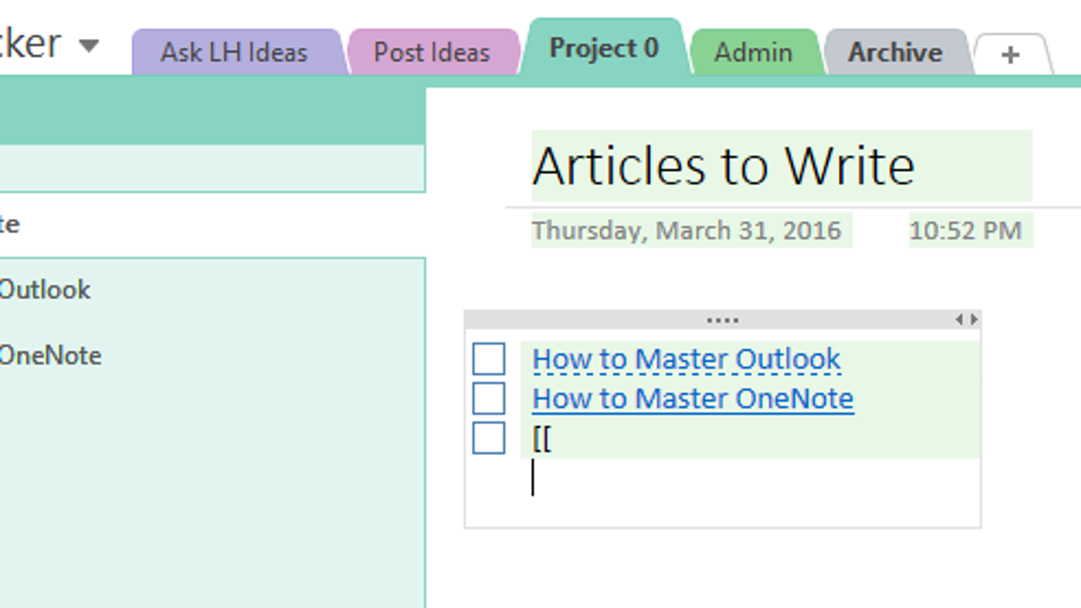 microsoft onenote 2016 tutorial pdf