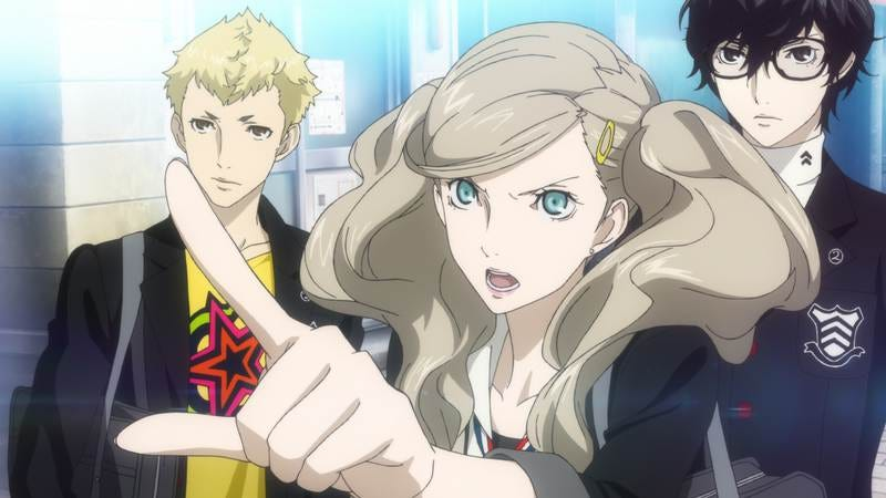 Screenshot: Persona 5
