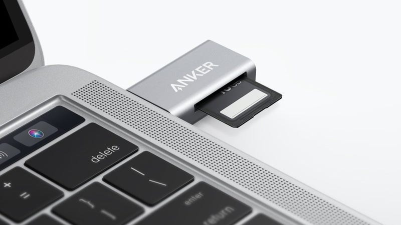 Anker USB-C Card Reader | $10 | Amazon | Promo code ANKER837