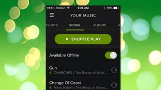 Spotify Can Now Sync All Your Music for Offline Listening in One Tap