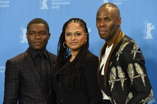 David Oyelowo, Ava DuVernay and Colman Domingo at the 65th Berlin International Film Festival Berlinale Feb. 10, 2015TOBIAS SCHWARZ/AFP/Getty Images