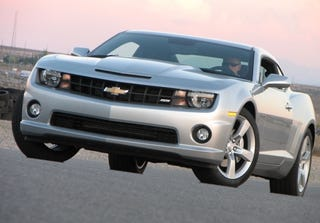 Illustration for article titled Unofficial 2010 Chevrolet Camaro SS Pictures
