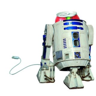 Illustration for article titled Photochopped R2-D2 USB Beverage Cooler Can Be Yours, Actual Product or Not