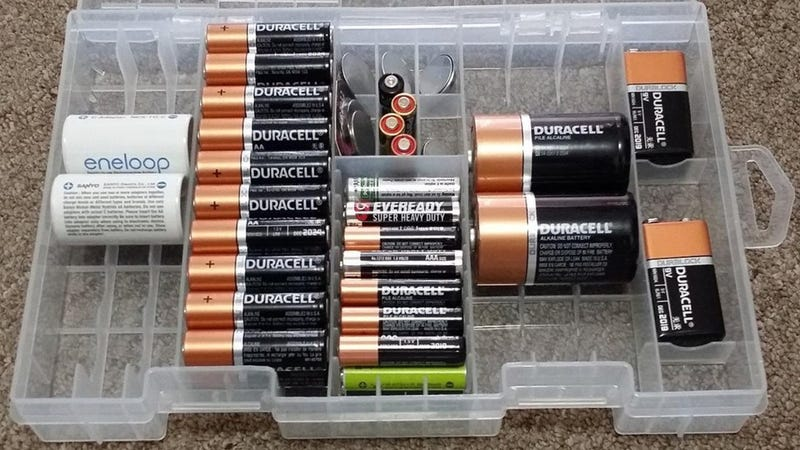 Battery Organizer Case, $7 at checkout