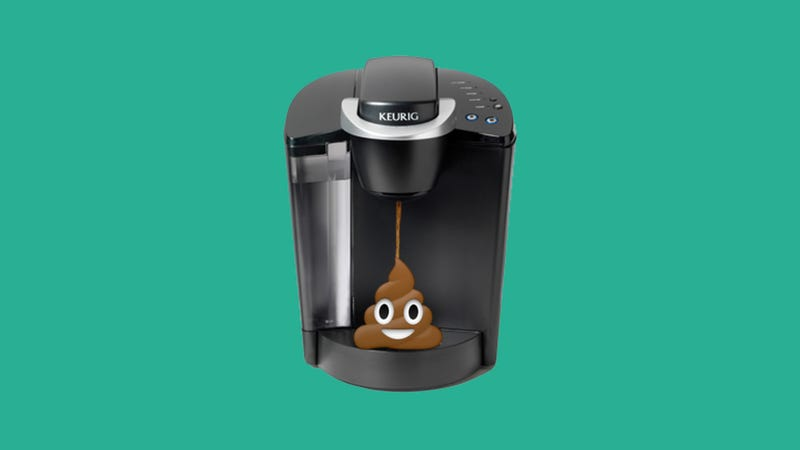 Illustration for article titled Keurig Is (Still) Full of Shit