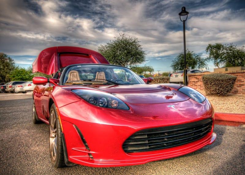 Illustration for article titled Tesla Roadster 2.0