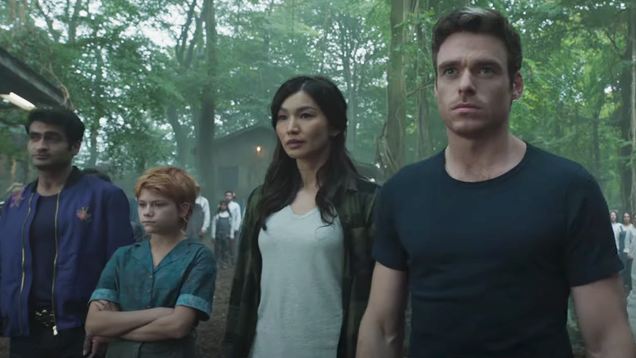 Marvel's Eternals Footage Arrives With Captain Marvel & Black Panther Sequel Titles