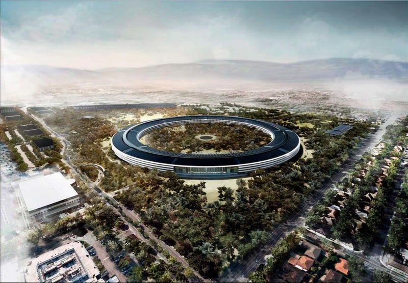 Illustration for article titled El nuevo campus de Apple sufre retrasos y sobrecostes millonarios