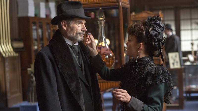Timothy Dalton, Helen McCrory/Showtime