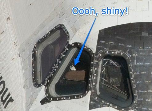 space shuttle landing onboard - photo #18